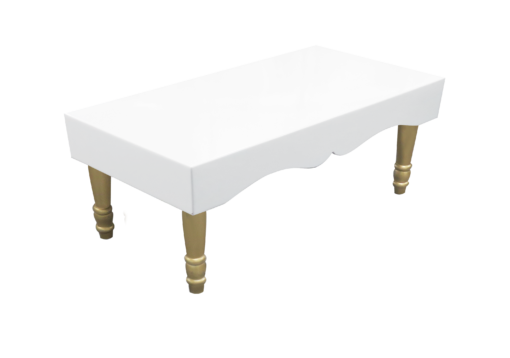 Avalon Chic Rectangular Gold Coffee Table 1 510x358 - Avalon Chic Rectangular Gold Coffee Table