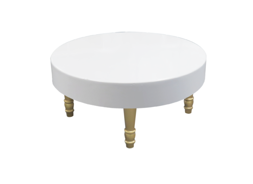 Avalon Round Gold Coffee Table 1 510x370 - Avalon Round Gold Coffee Table