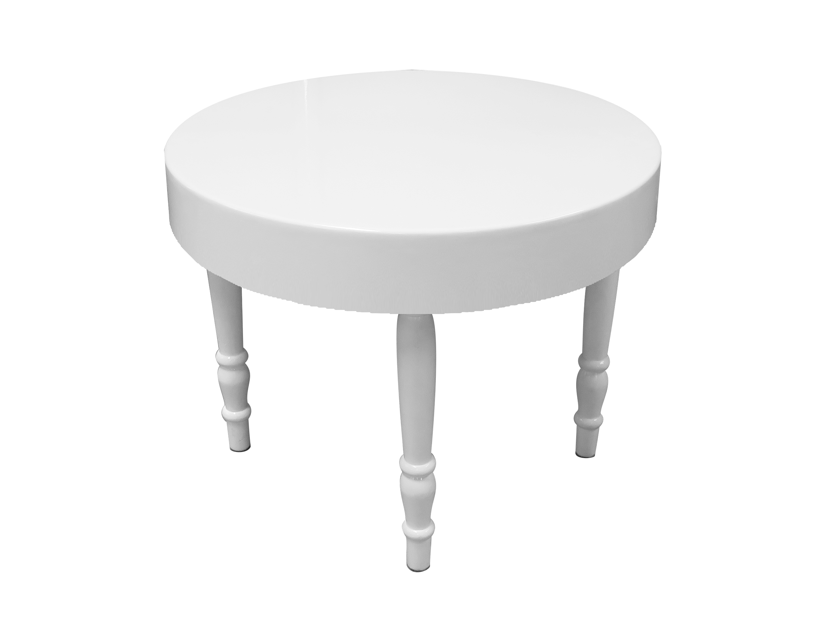 Rent Or Buy Avalon Round White Dining Table Event Rental