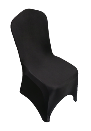 Areeka Event Rentals - Stewart Banquet Chair with Black Stretch Cover