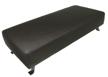 Indiana Ottoman Black Cover