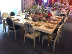 Dior Chair Set Up 3 1 300x225 - White Dior Dining Chair