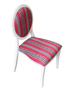 Arabic Print Dior Dining Chair
