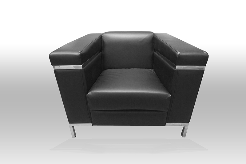 Ebony 1 Seater Sofa 300x200 Single