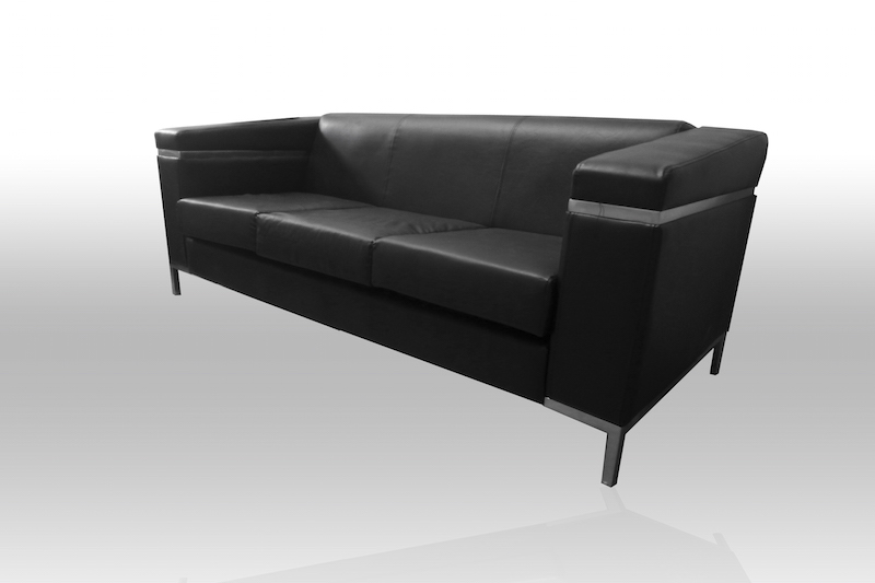 Rent Or Buy Ebony 3 Seater Sofa Event Rental Dubai Uae