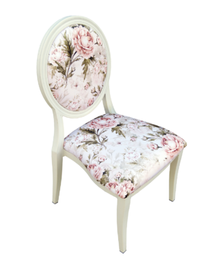 Floral Dior Dining Chair 1 300x400 - White Dior Dining Chair