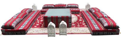 Low Arabic Seating Pattern 1 Setup 7 510x169 - Low Majlis Coffee Table