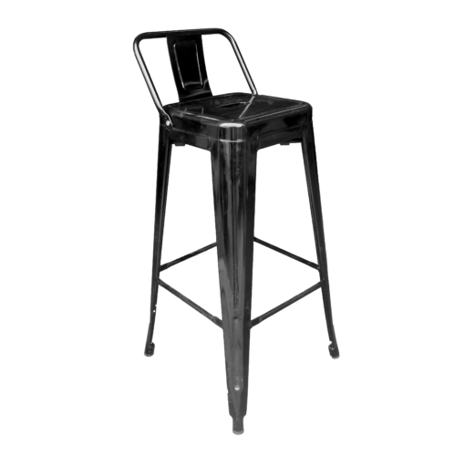 bar chair with back