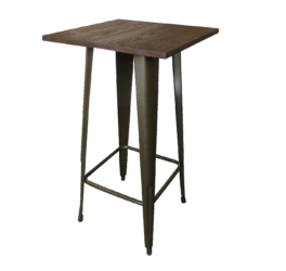 Tolix Bar Table, high table, cocktail table, rustic furniture