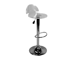 acrylic bar stool, high chair, high stool
