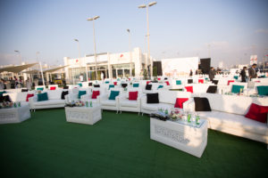 Outdoor event, Corporate Event, Sophie 1-Seater, Sophie 2-Seater, Sophie 3-Seater, Casablanca Rectangular Coffee Table, Downy Cushions