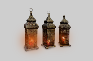 Areeka Event Rentals - Brass Arabic Lamp