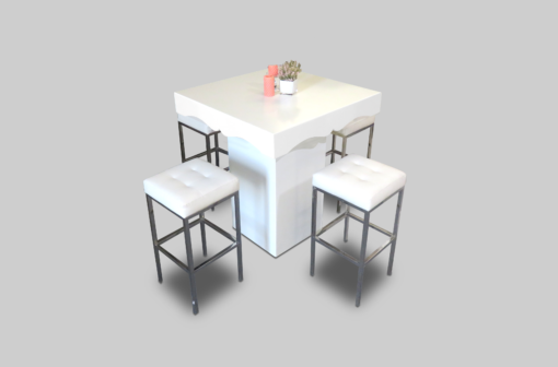 aug2017 le minou chic square cocktail table setup cocktail tables 1 510x336 - Le Minou Chic Square High Table