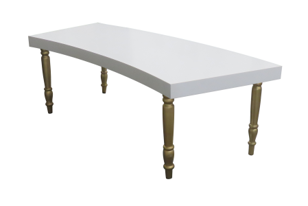 Avalon Curved Gold Dining Table E1502866967186 1 300x200