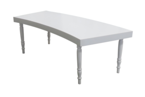 avalon curved white dining table e1502867295810 1 300x200 - Avalon Curved White Dining Table