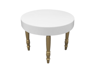 avalon round gold dining table 1 1 300x227 - Avalon Round Gold Dining Table