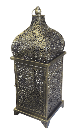 Medium Brass Arabic Lamp, ramadan, arabic accessories