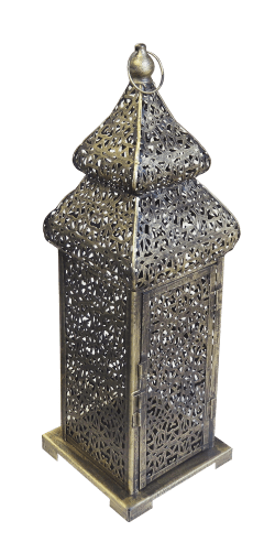 Small Brass Arabic Lamp | Buy or Rent Furntiture in UAE | Areeka Even Rentals