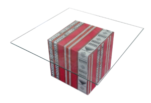 Arabic cube table with glass top 1 300x205 - Arabic Majlis Coffee Table