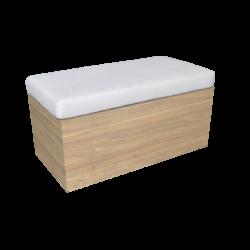 Wooden bench, outdoor furniture