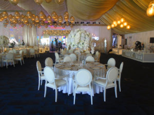 Areeka Event Rentals Weddings 7 300x225 - White Dior Dining Armchair