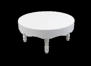 Avalon Chic Round White Coffee Table 1 1 300x218 - Avalon Chic Round White Coffee Table