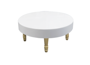 Gold Round Coffee Table, lounge furniture