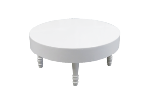 Avalon Round White Coffee Table 1 300x218 - Avalon Round White Coffee Table