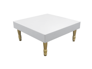 Avalon Square Gold Coffee Table 2 1 1 300x226 - Avalon Gold Square Coffee Table