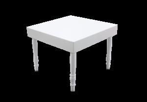 Avalon Square White Dining Table 1 1 300x207 - Avalon Square White Dining Table