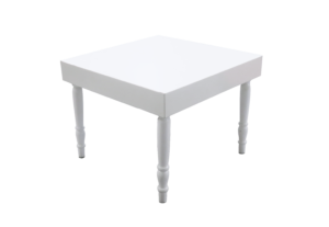Avalon Square White Dining Table 1 300x207 - Avalon Square White Dining Table