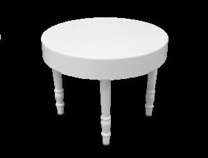 Avalon round white dining table 1 300x228 - Avalon Round White Dining Table