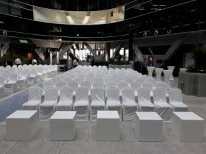 Banquet Chair Set Up 1 2 300x225 - Stewart Banquet Chair Regular Cover