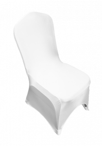 Stewart Banquet Chair White Stretch Cover
