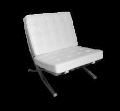 armless lounge sofa, barcelona chair