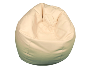 bean bag off white, soft seating