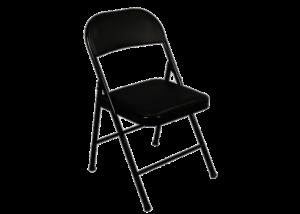 Black Folding Chair 1 1 300x214 - Nouveau Folding Chair