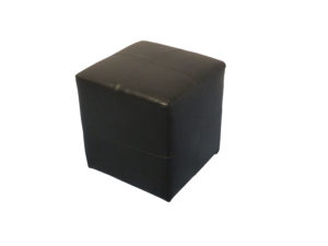 Black Roma Square Pouffe 1 1 300x225 - Black Roma Square Pouffe