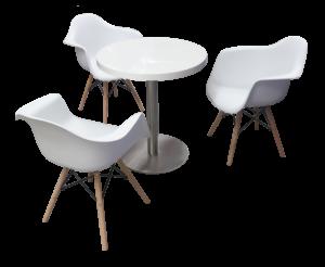 Blanc Cafe Table setup 1 300x246 - Blanc Cafe Table