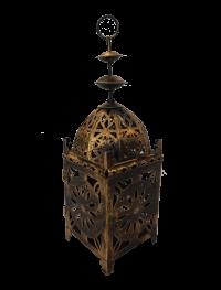 Brass Arabic Lamp Centerpiece