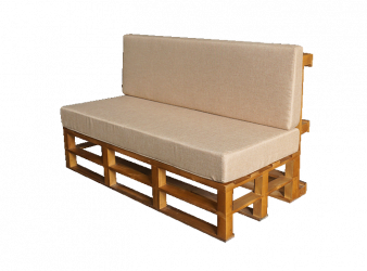 Pallet Sofa 2 Seater, Rustic Sofa 2 Seater