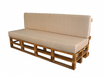 Bratley Pallet 3-Seater Sofa