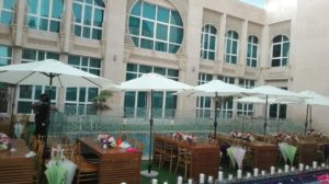 Bratton Rectangular Dining Table Set Up 1 1 300x168 - Lockwood Outdoor Umbrella