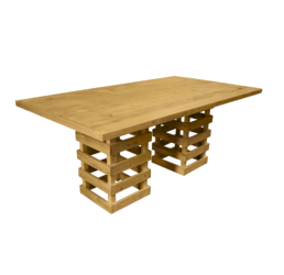 outdoor dining table, pallet dining table