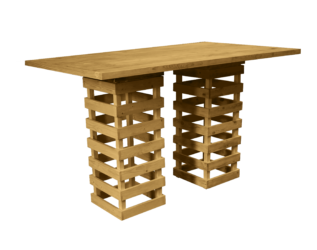 pallet bar table, pallet high table, rustic bar table