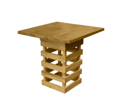 wooden outdoor table, pallet furniture