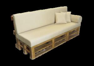 Pallet Sofa 3 Seater, Rustic furniture