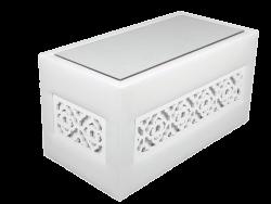 Casablanca Rectangular Table with Glass Top e1474464126655 1 1 - Casablanca Rectangular Coffee Table with Glass Top