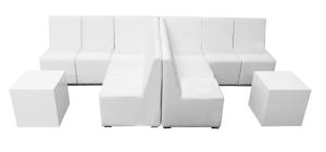 Crevasse Sofa Set, lounge sofa