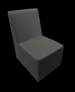Chameleon Single Chair Black e1498722111549 1 1 - Chameleon Single Sofa - Black
